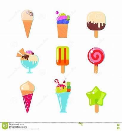 Ice Cream Illustrations Illustration Vector