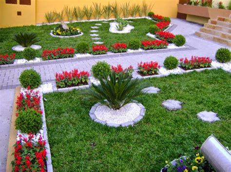 giardini e fiori come abbellire un giardino moderno disegno giardino