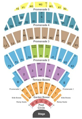 hollywood bowl seating charts schedule los angeles ca