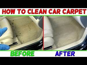 how to clean car carpet easy like new youtube With how to clean car floor carpet