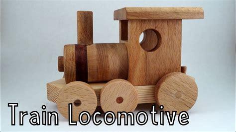 wooden toy train locomotive wooden
