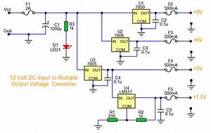 Multiple Output Dc Converter