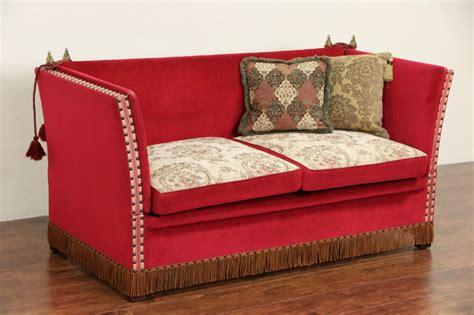 sold spanish adjustable dropside  vintage sofa