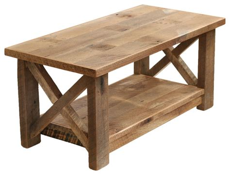 Tisch Aus Dielen by Farmhouse Coffee Table X Made From Reclaimed Wood
