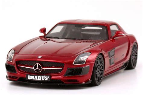1 43 Brabus 700 Biturbo Basis Mercedes Sls Amg C197 Rot