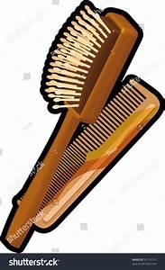 Hair Brush Comb Stock Vector 54175315 - Shutterstock