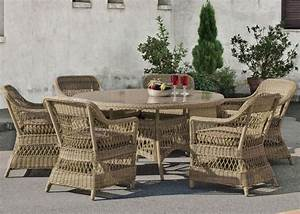 Salon De Jardin Beige : salon de jardin table h v a cisne r sine tress e beige naturel 4 places meubles de jardin ~ Teatrodelosmanantiales.com Idées de Décoration