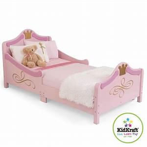 Enfant Lit Fille : lit princesse pour petite fille 76139 achat vente lit enfant sur ~ Teatrodelosmanantiales.com Idées de Décoration