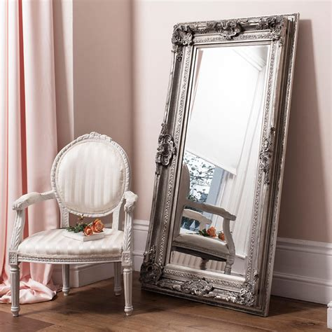 floor mirror costco costco uk gallery valois silver leaner from costco co uk