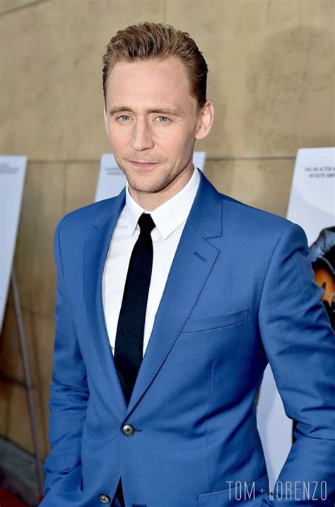 Tom Hiddleston Waxwork Looks Nothing Tom Hiddleston In Mcqueen At The Quot I Saw The