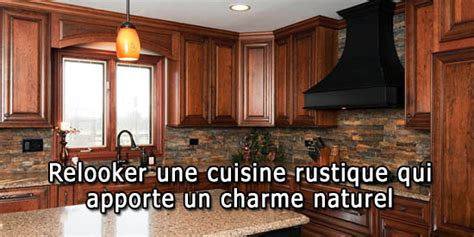 transformer une cuisine rustique com moderniser cuisine rustique chaios com