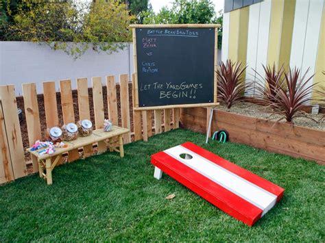 Backyard Games And Entertaining  Diy Outdoor Spaces