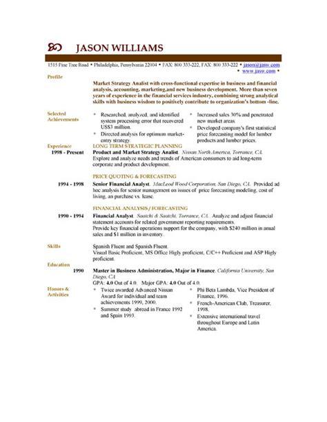 Un Resumen En Ingles by Modelo Curriculum Ingles Modelo Curriculum En Ingles