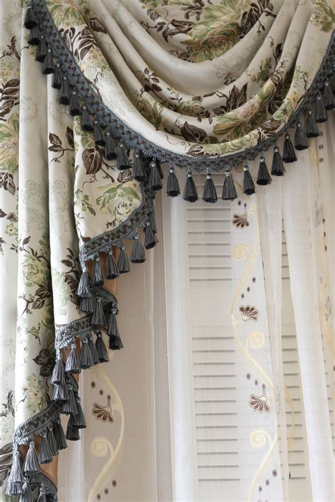 drapes and valances appalachian swag valance curtains