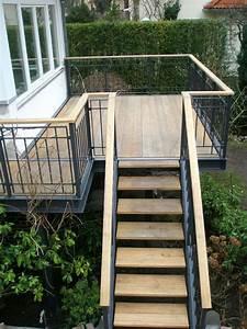 8punkt8 With französischer balkon mit terrassen treppen in den garten