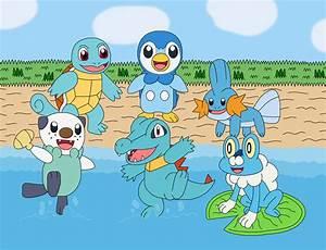 Pokemon Pokemon Water Dragon Pokemon Name Images | Pokemon ...