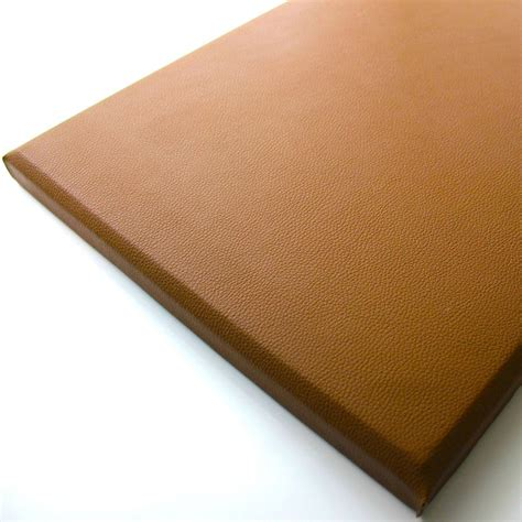 dalle en similicuir pour mur carreau cuir pan sim 30x60 tab sygma