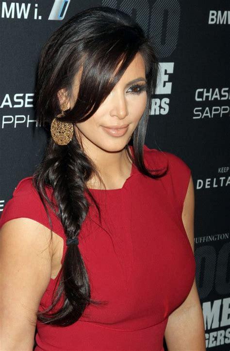Kim Kardashian Hairstyles - Celebrity Latest Hairstyles 2016