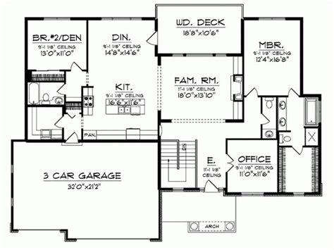 bungalow house plans with basement 598 best house plans images on pinterest house floor plans dream house plans and master suite