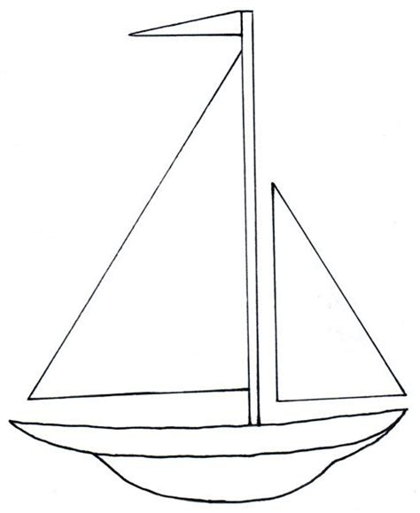 Toy Boat Outline by Toy Boat Clipart Black And White Www Pixshark