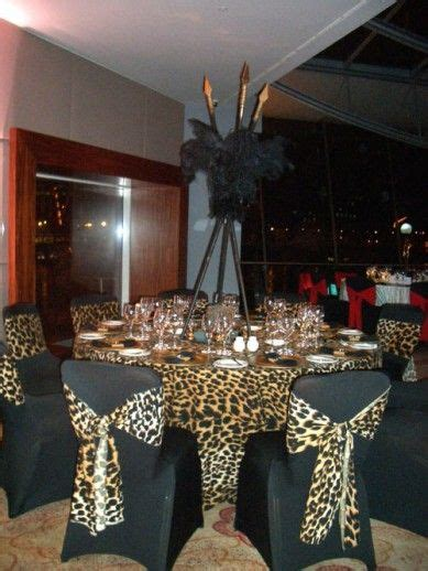 Africanthemed Centerpieces  Sharper Solutions African