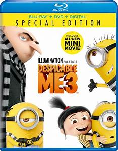 Despicable Me 3 DVD Release Date December 5, 2017