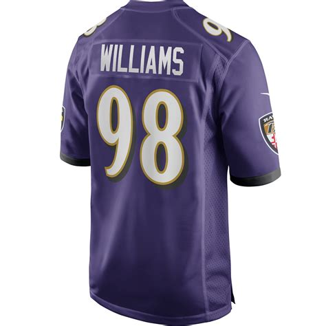 Brandon Williams Baltimore Ravens Team Game Jersey ...