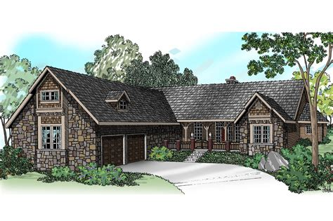 Ranch House Plans  Gideon 30256  Associated Designs