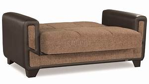 mondo sofa bed convertible in brown fabric by casamode w With sofa bed options