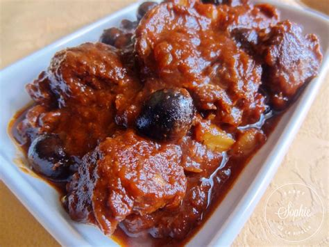 boeuf confit aux olives la tendresse en cuisine