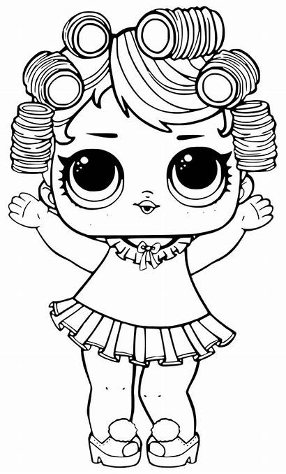 Lol Coloring Pages Doll Surprise Colouring Series