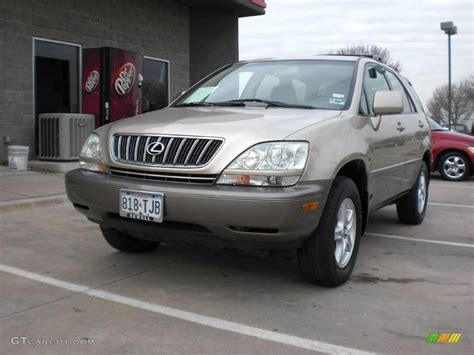 gold lexus rx 2003 burnished gold metallic lexus rx 300 awd 2039098