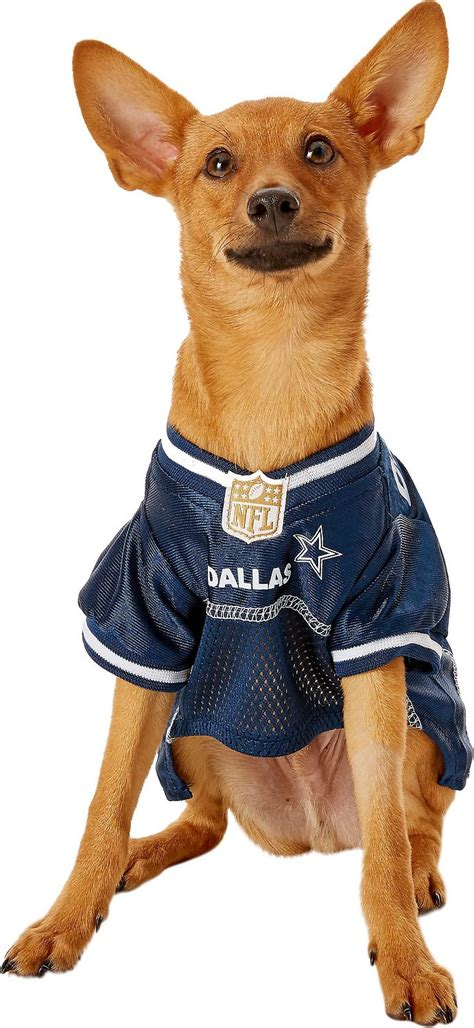 pets  nfl dog cat mesh jersey dallas cowboys