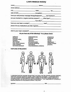 Massage Therapy Consent Forms Free