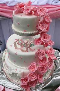 wedding cake with roses sugarcraft by soni three tier wedding cake roses