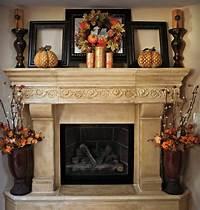 excellent rustic mantel decoration ideas 30 Amazing Mantel Halloween Decorations Ideas - Decoration Love
