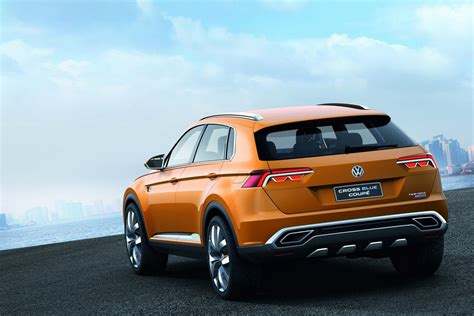 volkswagen crossblue volkswagen crossblue coupe hybrid suv details and pictures