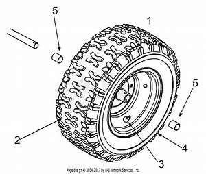 Mtd 31ae600e022  2000  Parts Diagram For Wheel Assembly