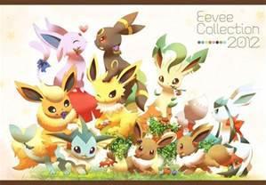 eevee evolutions wallpaper