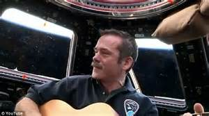 Space jam: Astronaut duets with musician on first song ...