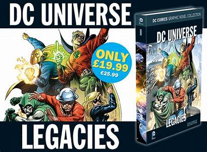 Dc Eaglemoss Comic Comics Graphic Legacies Novel