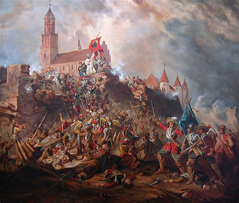file siege of clari montis jasna góra in 1655 png