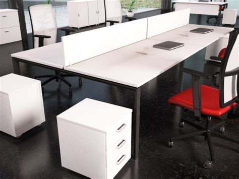 bureau bench bureaux bench contemporain blanc achat bureaux bench