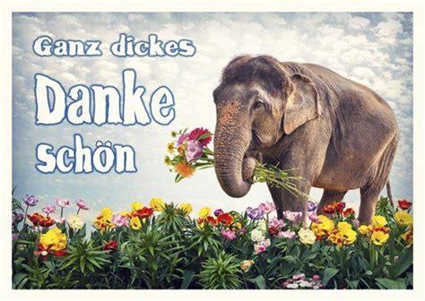 postkarte  lustig von modern times dickes danke