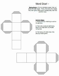 Best 25 ideas about dice template find what youll love 6 sided dice template blank pronofoot35fo Image collections