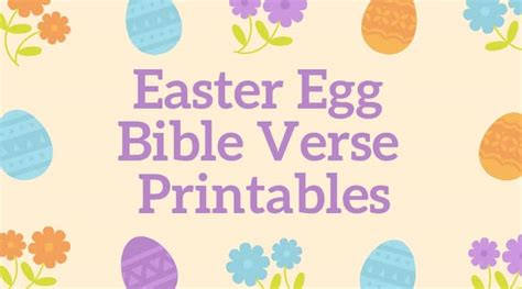 easter bible verses for free printable memory 697 | Easter Bible Verses for Kids Free Printable Memory Verses Featured Image