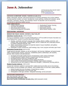 Elementary school teacher resume samples free resume for Elementary teacher resume template