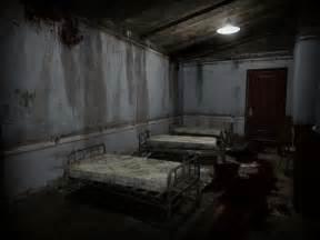 Scary Dark Empty Creepy Room