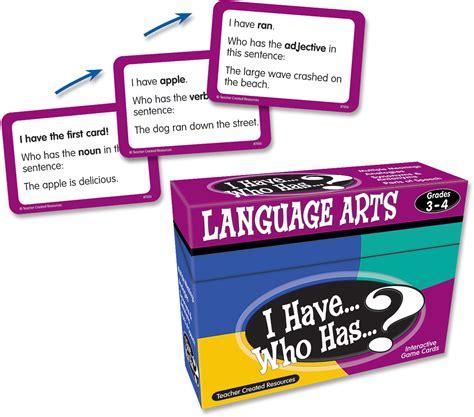 language arts game grade   tcr