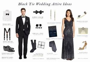 black tie wedding dress code ideas deciding your wedding With black tie dress code for wedding